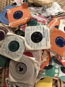 Large collection of 45 singles to include Billy Fury, The Hollies, The Searchers etc