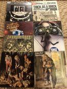 Ten LPs by Jethro Tull