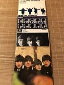 """4 The Beatles LPs. Including """"Help"""", """"A Hard Day's Night"""", """"With The Beatles"""" all original UK mono"""