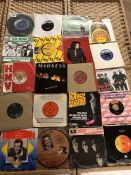 Collection of Vinyl 45's / singles to include Doctor Feelgood, The Move and Ian Dury