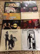 """10 Fleetwood Mac / Peter Green / Stevie Nicks LPs inc. """"Then Play On"""" (UK orig Reprise RSLP"""