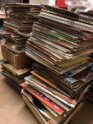 Huge collection of Vinyl LPs