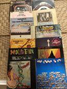 "14 Seventies Progressive Rock LPs inc. albums by Black Widow ""Sacrifice"" (UK orig CBS), Family """