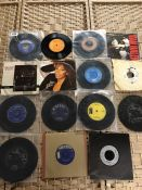 Collection of Vinyl 45's / singles to include The Sweet, The Eagles, Free, The Rolling Stones etc