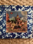 """1 ROLLING STONES """"Their Satanic Majesties Request"""" LP (UK stereo orig with 3-D sleeve unboxed"""