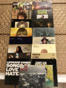 17 US Folk / Singer Songwriter LPs inc. albums by Spider John Koerner & Willie Murphy (UK orig
