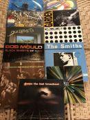 """11 Indie / Alternative Rock LPs inc. albums by Nirvana """"Nevermind"""" (German orig Geffen), Stone Roses"""
