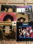 "6 Alexis Korner / John Mayall LPs inc. Alexis Korner ""I Wonder Who"" (UK orig mono TL 5381), ""Blues"