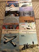 "16 Seventies Progressive Rock LPs inc. albums by Hawkwind ""S/T"" (UK black label Liberty), ""Space"