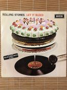 """The Rolling Stones """"Let It Bleed"""" LP. UK original stereo first pressing on the unboxed Decca label"""