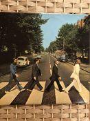 "1 THE BEATLES ""Abbey Road"" LP (UK orig PCS 7088 with misaligned Apple logo on rear of sleeve)."