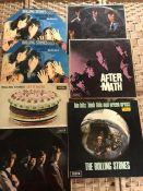 "7 ROLLING STONES UK Original Unboxed Decca LPs inc. ""Through The Past Darkly"" (mono LK 5019 & stereo"