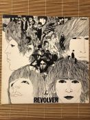 """The Beatles """"Revolver"""" LP. UK original stereo first pressing released on Parlophone PCS 7009."""