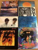 "8 Santana LPs including ""Abraxas"", ""Caravanserai"", ""Moonflower"" etc..."