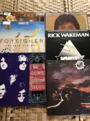 Collection of albums too include McCartney, Rick Wakeman, Genesis, LA Guns, Foreigner, ABBA