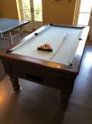 Pool table by maker Supreme Pool