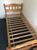 Single pine bed (bed 11)