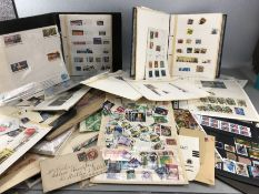 Stamps: Collection of Worldwide and some USA stamps various