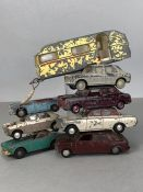 Collection of vintage SPOT ON model diecast cars / vehicles by Tri-ang (8)