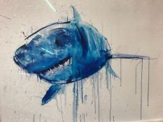 """Artist Dave White: Title """"Apex Diamond Dust"""" limited edition giclee approx 103 x 83cm of a great"""