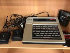 Vintage Computer: G7000 Videopac Gaming Console, game controllers & Videopac 18 Games Cartridge
