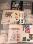 Stamps: A Quantity of mostly UK stamps, some Victorian & Edwardian and some rare Watermarks.