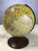 Small decorative globe, approx 21cm in height