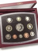 ROYAL MINT 2003 PROOF SET OF 11 COINS COMPLETE IN ORIGINAL CASE WITH CERTIFICATE