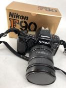 Nikon F90 Camera with SIGMA Zoom Lens 28 - 70mm 1:28