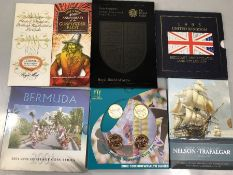 Collection of Royal Mint collectable coins to inclide: Gunpowder Plot; Emblems of Britain; Bermuda