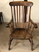 Windsor slat-back elbow chair