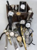 Large collection of watches (A/F)
