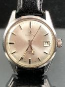 Gents IMPERIA automatic 25 jewels swiss made watch stamped INCABLOCK Compressor Brevet 313813 &