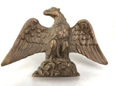 Heavy Brass Eagle possibly from an advertising sign