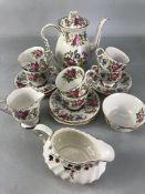 Royal Stafford Rochester coffee set