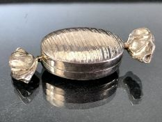 Silver Hallmarked 925 pill box in the form of a sweet