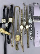 Collection of ladies watches to include Rotary, Limit etc