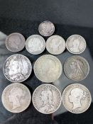 Collection of early silver British Coins/ coinage