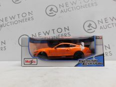 1 BOXED MAISTO 1:18 SCALE SPECIAL EDITION CAR MUSTANG SHELBY GT500 RRP £29.99