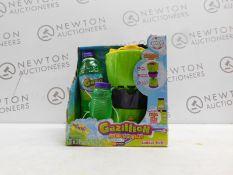 1 BOXED GAZILLION BUBBLES MONSOON BUBBLE TOY RRP £24.99