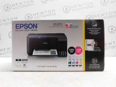 1 BOXED EPSON ECOTANK ET-2711 MULTIFUNCTION PRINTER RRP £229.99