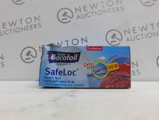 1 BOX OF BACOFOIL SAFELOC FOOD AND FREEZER BAGS RRP £24.99