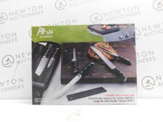 1 BOXED CANGSHAN S SERIES 7 PIECE BBQ KNIFE SET RRP £129.99