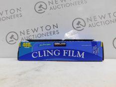 1 BOXED KIRKLAND SIGNATURE ALL PURPOSE CLING FILM 400M RRP £24.99