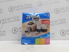 1 BOXED ZIPLOC SPACE BAG VARIETY RRP £34.99