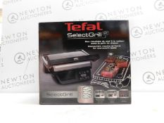 1 BOXED TEFAL SELECT GRILL GC740B40 5 PORTION ELECTRIC HEALTH GRILL RRP £199