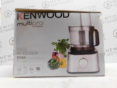 1 BOXED KENWOOD FDM302SS 800W 2.1L MULTI-PRO COMPACT FOOD PROCESSOR RRP £129.99