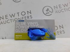 1 BOXED FINESSE PROFESSIONAL BLUE VINYL GLOVES RRP £24.99