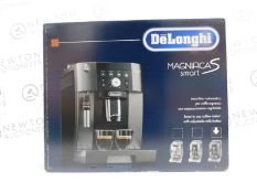 1 BOXED DELONGHI MAGNIFICA ECAM250.33.TB SMART BEAN TO CUP COFFEE MACHINE RRP £449