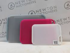 1 NEOFLAM CUTTING BOARDS 3 PIECE SET RRP £29
